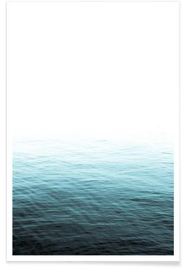 Vast Blue Ocean Affiche
