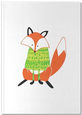 Shirt Fox Carnet de note