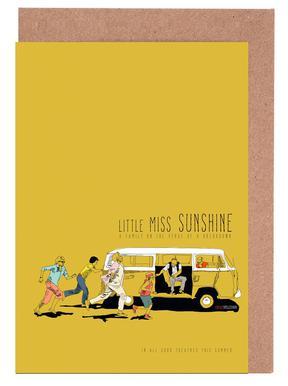 Little Miss Sunshine Set de cartes de vœux