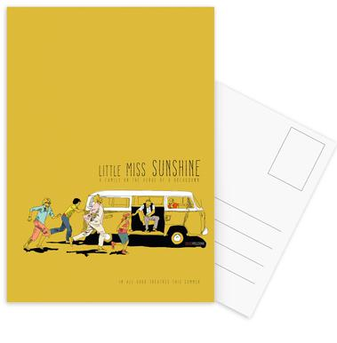 Little Miss Sunshine Set de cartes postales