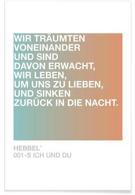 Ich und Du Light 01 -Poster