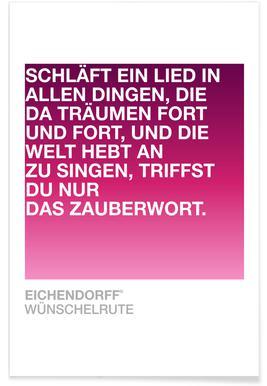 Wünschelrute Poster