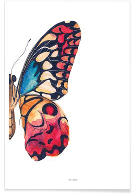 Butterfly Right Poster