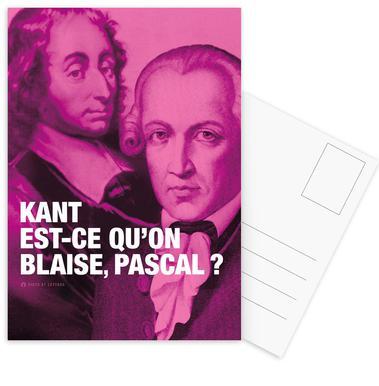 Kant Set de cartes postales