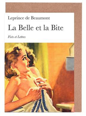 La Belle Et La Bite Set de cartes de vœux