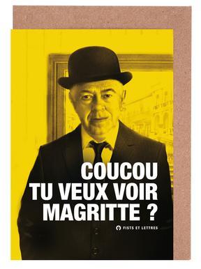 Magritte Set de cartes de vœux