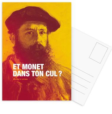 Monet Set de cartes postales