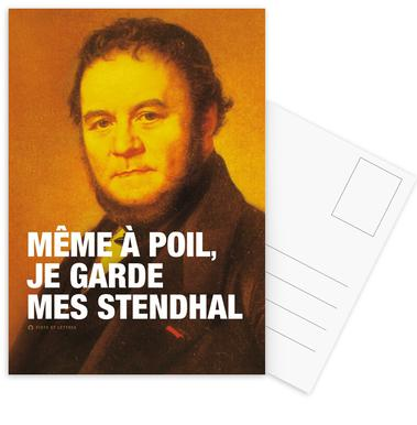 Stendhal Set de cartes postales