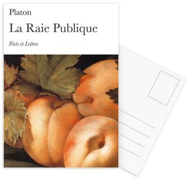 La Raie Publique Set de cartes postales