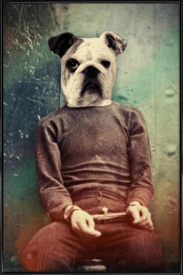 Bad Dog Framed Poster