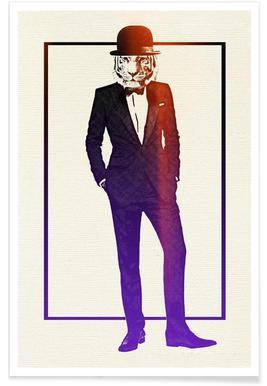 Classy Tiger poster