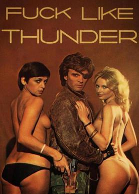 Like Thunder canvas doek