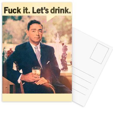 Let's Drink ansichtkaartenset