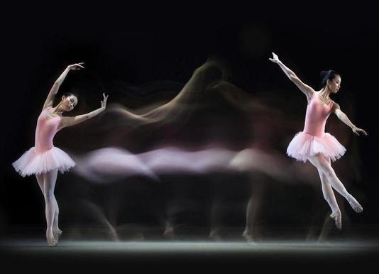 Ballerina Movement As Canvas Print By Antonyus Bunjamin