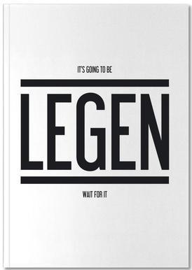 Legendary 1 Notitieboekje