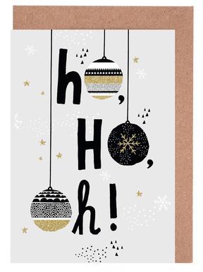 HohoOh Set de cartes de vœux