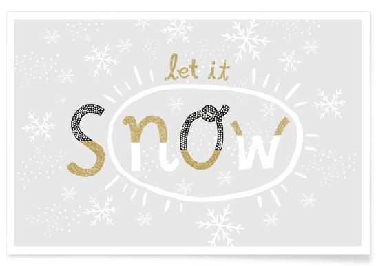 Snow Affiche