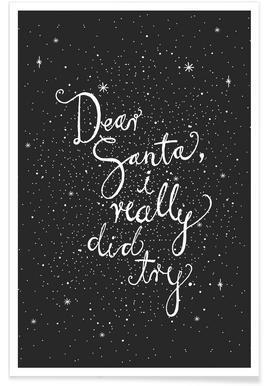 Dear Santa No. 2 Poster