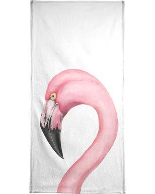 Flamingo  Serviette de plage