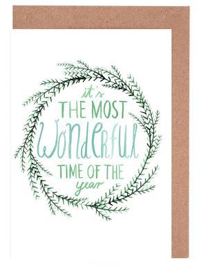Evergreen No. 1 Set de cartes de vœux