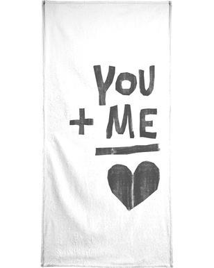 You and Me handdoek