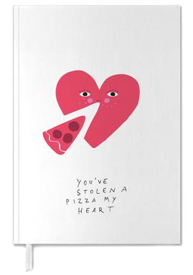 A Pizza My Heart Personal Planner