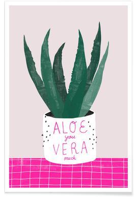Aloe Vera -Poster