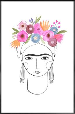 Beautiful Frida ingelijste poster