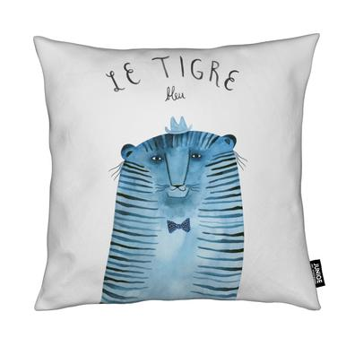French Animals Tigre Coussin