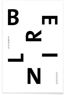 Cities - Berlin Poster