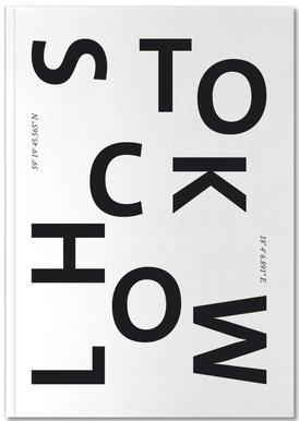 Cities - Stockholm Notizbuch