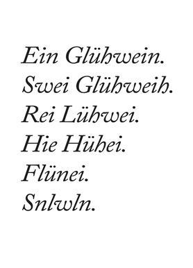 Glühwein Canvas Print