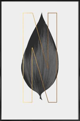 Plants N Poster in Standard Frame