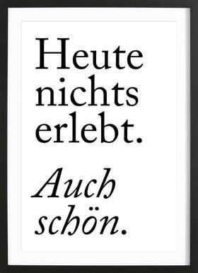 Auch Schön Als Poster Von Typealive Juniqe