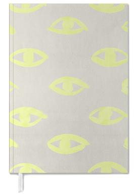 Natural Neon (eyes) Personal Planner