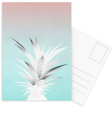 Ananas Comosus Postcard Set