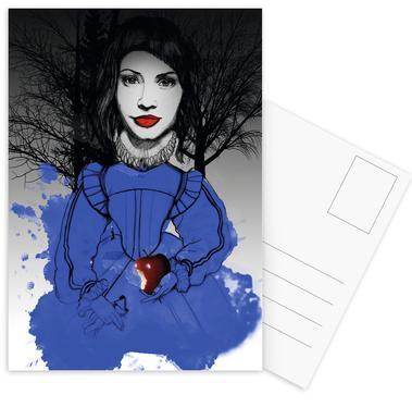 Fairy Tale Blue ansichtkaartenset