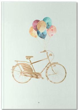 Bike & Balloons Notebook
