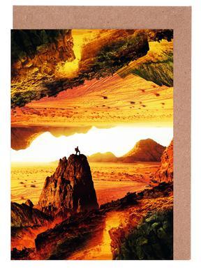 Lava Isolation Set de cartes de vœux