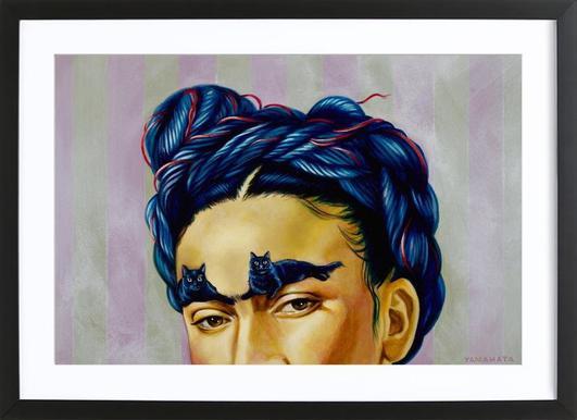 Frida Poster in houten lijst