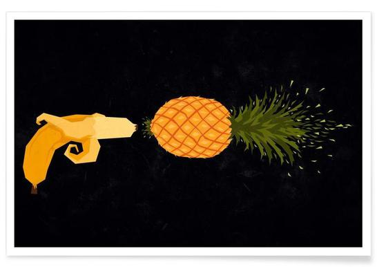 Who shot the pineapple Poster