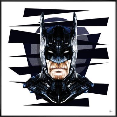 Dark Knight Affiche sous cadre standard