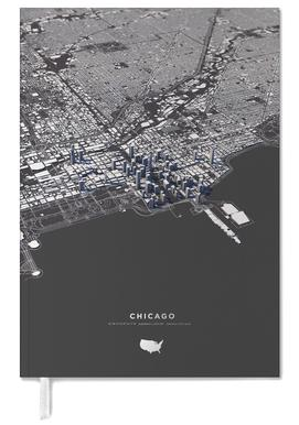 Chicago-3D-Stadtkarte Poster | JUNIQE on