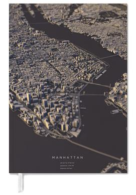 Manhattan City Map II agenda
