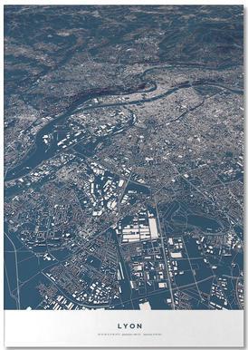 Football City - Lyon Notepad
