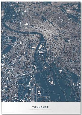 Football City - Toulouse Notitieboekje