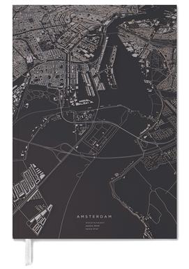 Amsterdam City Map Terminplaner