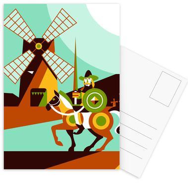Don Quijote ansichtkaartenset