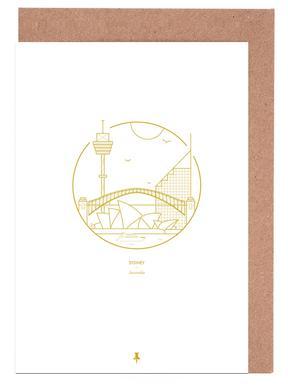 Sydney Set de cartes de vœux