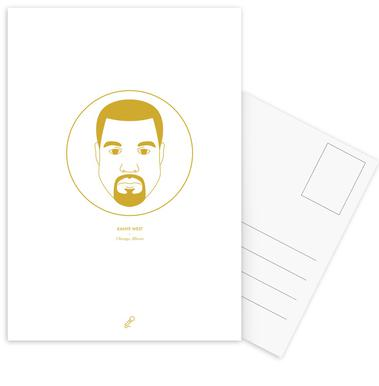 Kanye West ansichtkaartenset